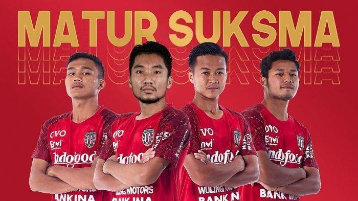 Gusti Sandria, Reza Irfana, Kadek Haarlem dan Rian Firmansyah adalah 4 pemain yang dilepas dari skuad Bali United FC