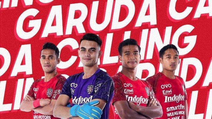 Empat Pemain Bali United ke Timnas Indonesia U - 23.