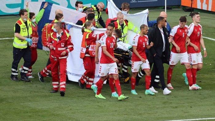 Bintang Tim Denmark Christian Eriksen Henti Jantung di Lapangan 5 Menit Meninggal. Ini Aksi Kapten