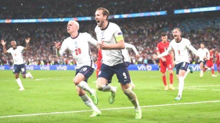 EURO 2020, Inggris Tantang Italia di Final Euro 2020, Kane Teror Ronaldo Perburuan Top Skor