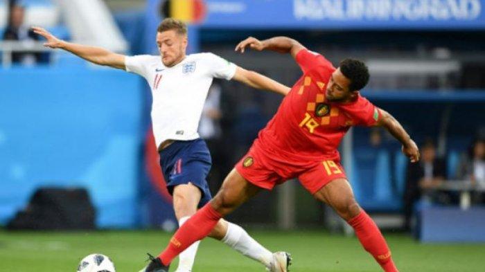 Penyerang Inggris Jamie Vardy Diragukan Bisa Tampil versus Swedia di Perempat Final Piala Dunia 2018