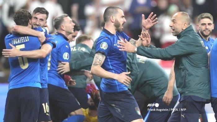 Kegagalan Inggris Ukir Prestasi Sejarah, Italia Raup Gelar Juara Piala Eropa Kedua Kali Setelah1968
