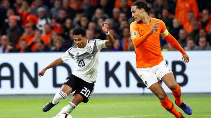 Hasil Kualifikasi Piala Eropa 2020- Jerman Taklukkan Belanda Skor 3-2