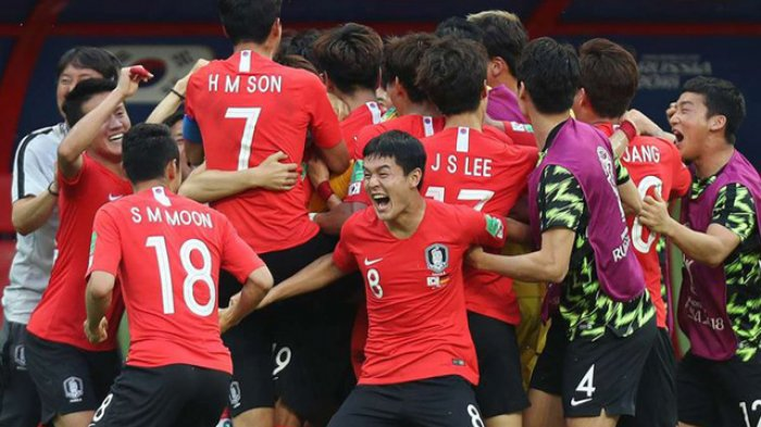 Skuad Korea Selatan Dilempari Telur Saat Pulang ke Negaranya