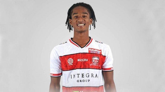 Gelandang Termuda Pencetak Gol 1 Liga 2021 dari Madura United dan Persipura Jayapura, Ini Profilnya