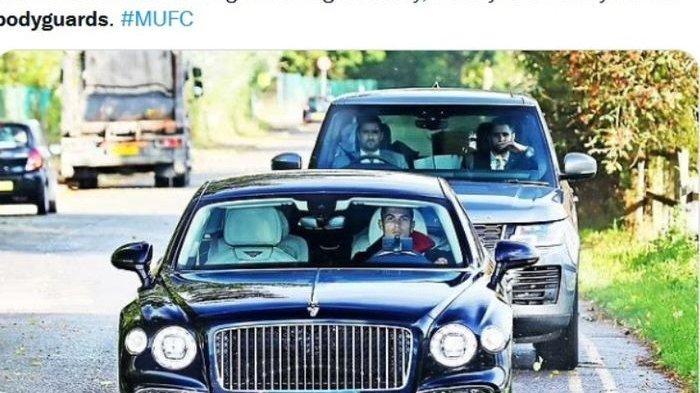 Datang Latihan, Cristiano Ronaldo Bawa Bodyguard, Manchester Disebut Sudah Tak Sama Seperti Dulu
