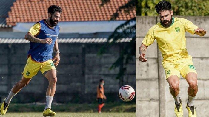 Gelandang Persebaya Surabaya, Aryn Williams tampil beda setelah kembali dari Australia.