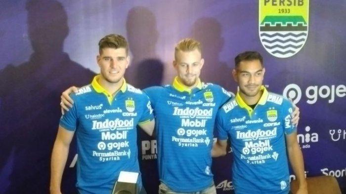 Bomber Maung Bandung, Ezechiel, Kippersluis akan  Buktikan saat Laga Madura United vs Persib
