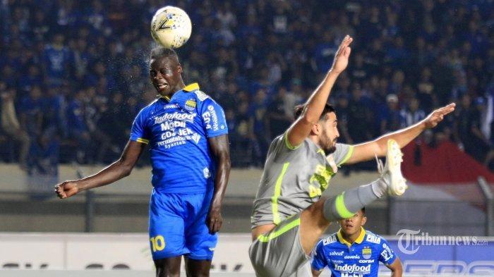 Striker Persib Bandung Ezechiel  Lagi di Puncak Ingin  Teruskan Keganasannya ke Gawang Arema, Info