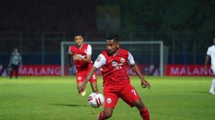 Begini penampilan pemain Persija Jakarta saat dikalahkan 0-2 dari PSM Makassar babak pertama Grup B Piala Menpora 2021 di Stadion Kanjuruhan, Malang, Senin (22/3/2021) malam WIB.