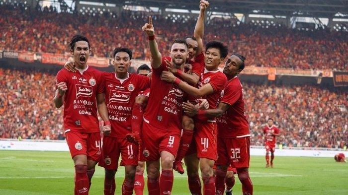 Striker Persija Jakarta Marko Simic Penyerang Terbaik  Liga 1 2019, Lihat Aksinya di Lapangan