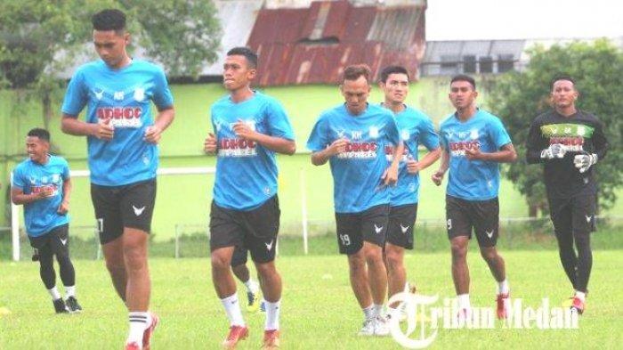 Jadwal Liga 2 Molor: Latihan PSMS Medan Tetap Fokus Sentuhan dan Kekompakan Tim Ayam Kinantan