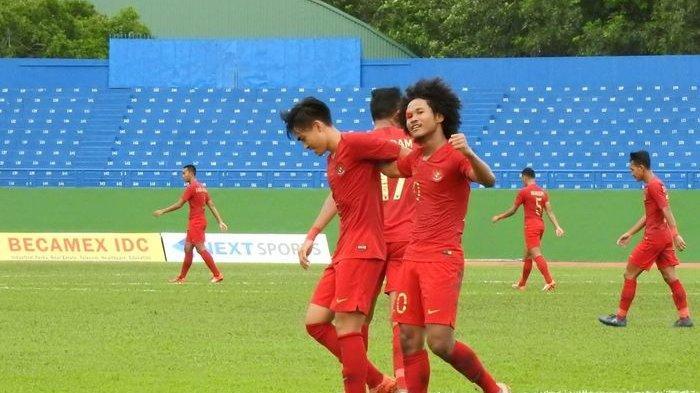 Link Live Streaming RCTI Timnas U-19 Indonesia vs Iran Laga Uji Coba 2019, Sabtu 7/9 Jam 15.30 WIB.