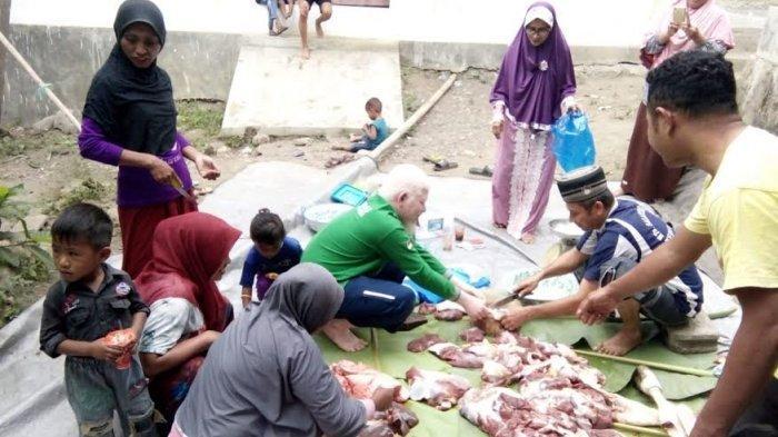 Umat Kristen Dilibatkan Dalam Idul Adha Di Kelurahan Rewarangga