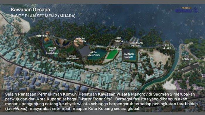 Pembangunan Kawasan Oesapa Kota Kupang, Bakal Jadi Obyek Wisata Terbaik