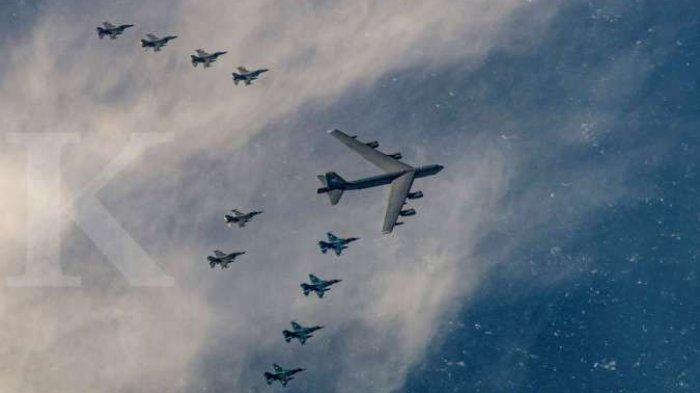 Amerika Siap Perang Hingga Hancurkan China, Pentagon Kirim4 pembom B-52H ke Pulau Guam Pasifik