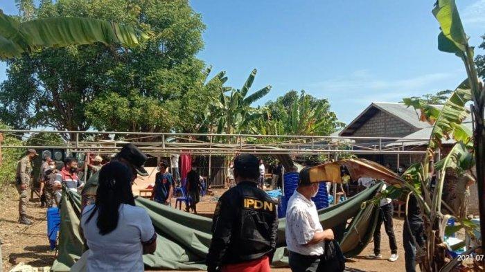 Tim Gabungan Satgas Covid-19 Matim Tertibkan Sejumlah Hajatan Pesta