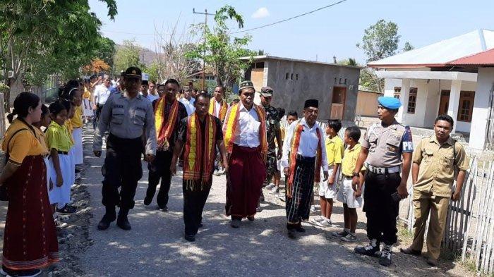 Pembukaan Pesparani di Sambi Rampas Dihadiri Umat Muslim