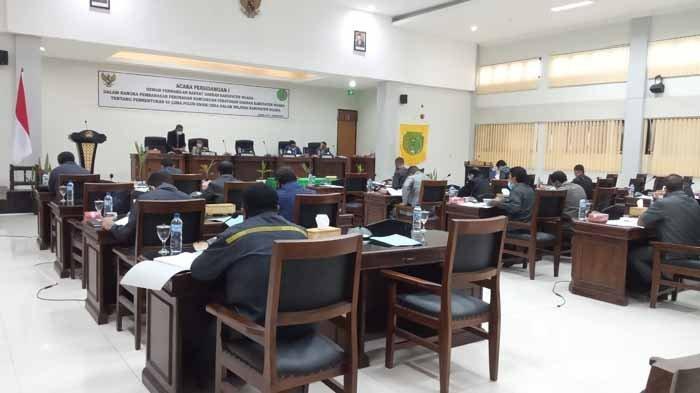 Pemda dan DPRD Bahas Ranperda Tentang Pemekaran 56 Desa di Kabupaten Ngada
