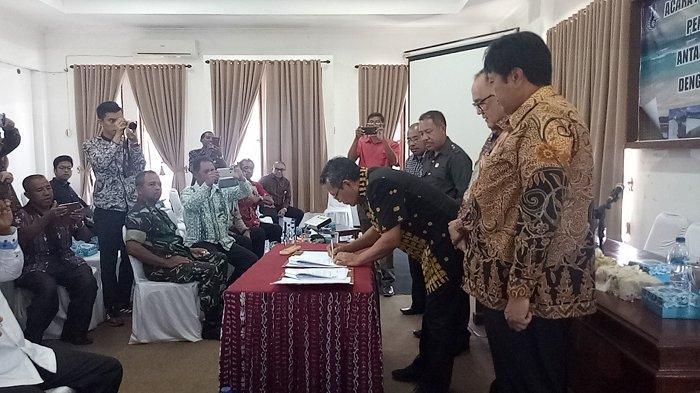 Pemda Nagekeo - Cheetham Flores Indonesia Teken MoU Investasi Pengelolaan Lahan Garam Industri