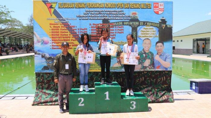 Anugerah Ati dan Serda Munawir Haris Dapat Tiket Gratis dari PT Lion Group