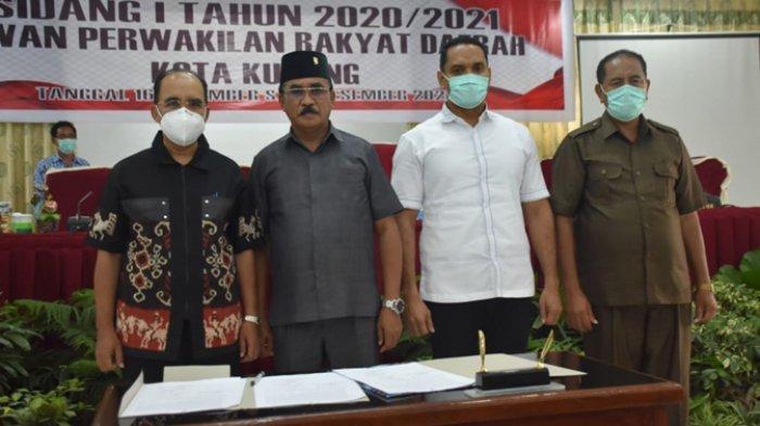 Pemerintah & DPRD Kota Kupang Resmi Tetapkan APBD 2021