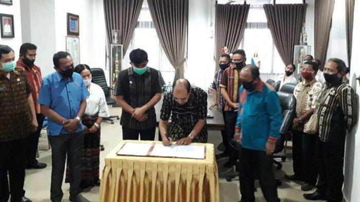 Pemkab Belu dan Pemkot Kupang Jalin Kerjasama Pengawasan Metrologi
