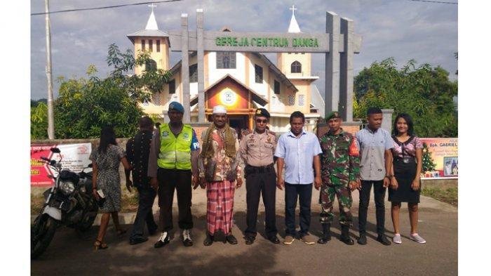 Pemuda Masjid di Nagekeo Ikut Pengamanan Misa Natal