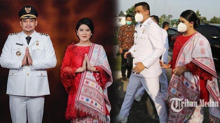 Cantiknya Kahiyang saat Pelantikan Bobby Nasution, Penampilan Putri Jokowi Tuai Pujian
