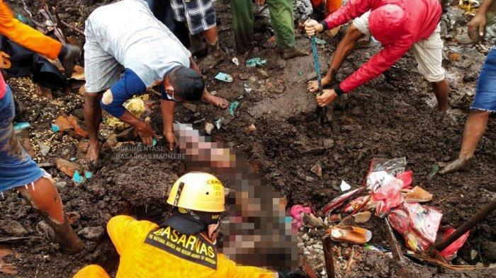 Warga Desa Nelelamadike Temukan Potong Tubuh Korban Banjir Bandang di Flores Timur