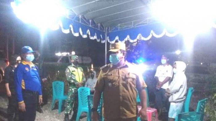 Tim Satgas Covid-19 Kecamatan Kelapa Lima Kota Kupang Bubarkan Dua Hajatan