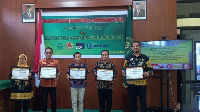 Pengadilan Agama Kupang Tandatangan MoU dengan 3 Lembaga