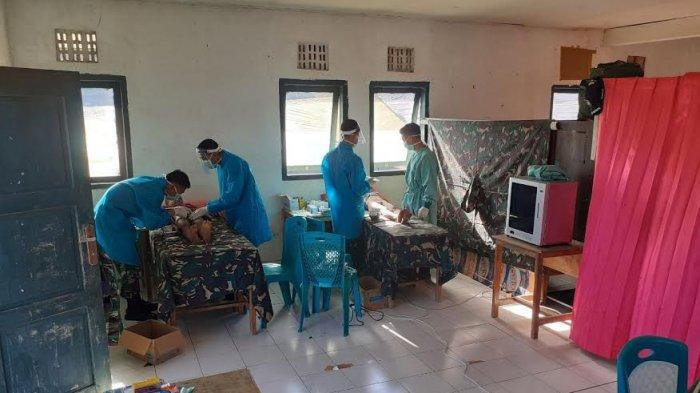 Satgas Yonif 744/SYB Beri Pengobatan Gratis Bagi Warga Perbatasan, Ini Bentuk Pelayanannya