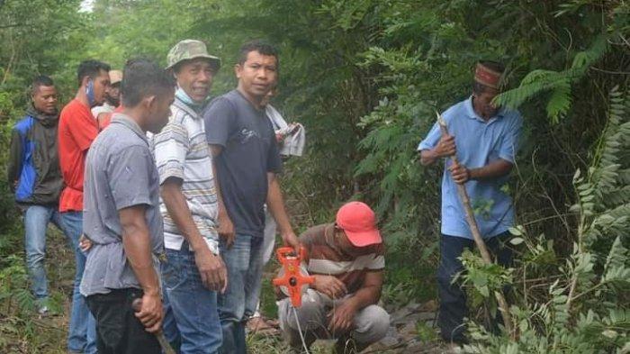Toko Adat Ladok & Ngusu Kota Komba Utara Ukur Tanah 1 Hektar Untuk Polres Matim, Ini Tujuanya!