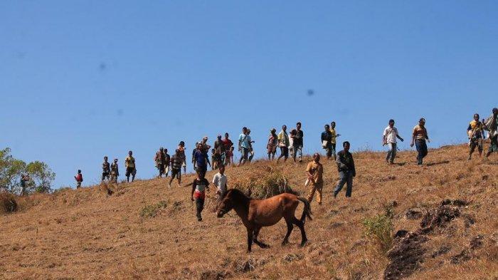 TRIBUN WIKI : Menikmati Indahnya Pesona Bukit Olaolo di Nagekeo
