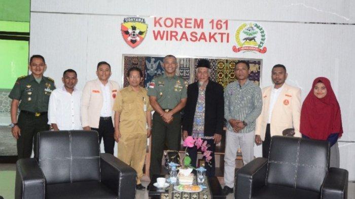 Pengurus Muhammadiyah NTT Lakukan Kunjungan dan Silaturahmi ke Korem 161/Wira Sakti Kupang