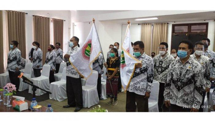 Pengurus PGRI Nagekeo Masa Bhakti 2020-2025 Dilantik, Ini Susunan Kepengurusannya!
