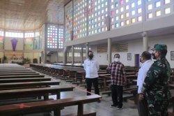 Penjabat Bupati Belu Cek Kesiapan Gereja Jelang Perayaan Paskah