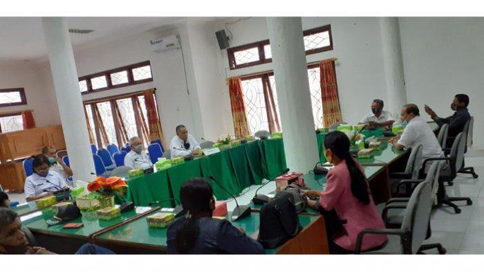 Penjabat Bupati Silaturahmi ke DPRD Minta Dukungan Sukseskan Pilkada