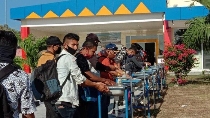 Cegah Corona - Bandara Umbu Mehang Kunda Waingapu Perketat Protokol Kesehatan, Simak INFO