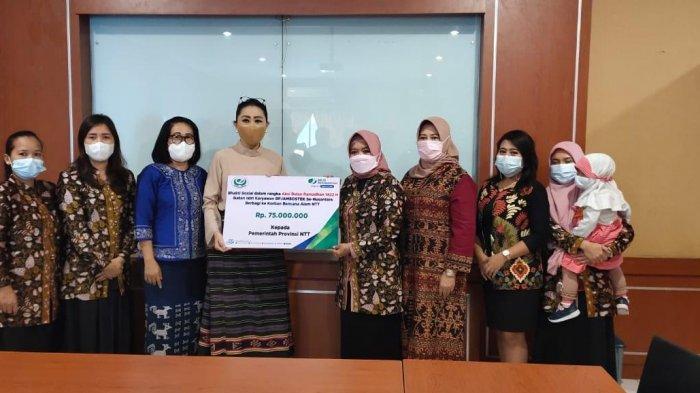 IIK BPJAMSOSTEK Salurkan Bantuan kepada Korban Terdampak Siklon Seroja NTT