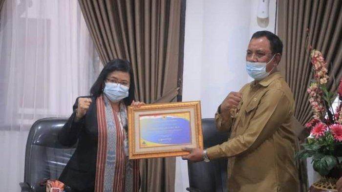Menteri Keuangan Beri Penghargaan Buat Pemkab Belu