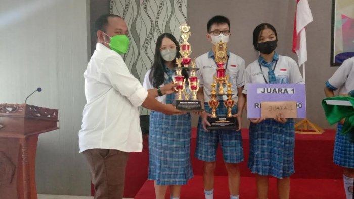 Himprosma Unwira Gelar LCCM, SMPK Sta Theresia Keluar Sebagai Juara