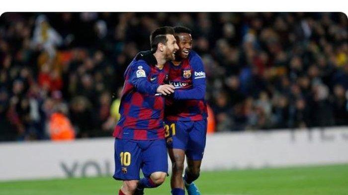 LIGA SPANYOL Babak Pertama Messi Langsung Cetak 3 Gol Barcelona Unggul, Eibar Balas di Babak Kedua?