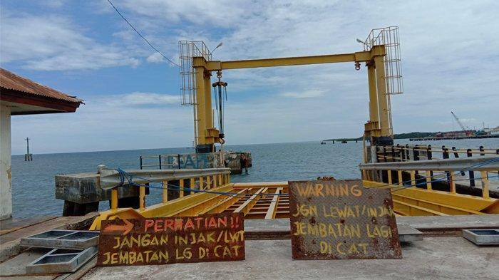 LIVE STREAMING: Dermaga Ferry Kanatang, Sumba Timur Sedang Diperbaiki