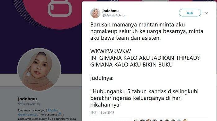 Perempuan ini Ditinggal Nikah Sang Mantan, Diminta Make Up Seluruh Keluarga Besar: Curhatnya Viral!
