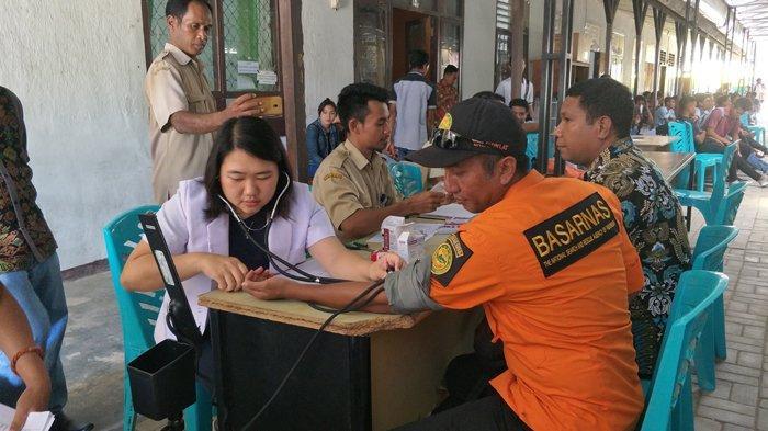 Peringati Bulan Pengurangan Risiko Bencana Tahun 2019, Forum PRB Sumba Timur Gelar Donor Darah