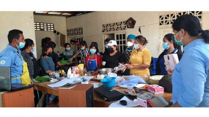 Peringati Hari Kartini, Ansy Lema-KPP Gelar Pelatihan Diversifikasi Olahan Ikan di Tiga Kabupaten
