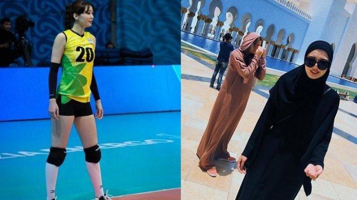 Pernah Viral Dijuluki Pemain Voli Tercantik, Sabina Altynbekova Kini Berhijab, Foto Jadi Sorotan