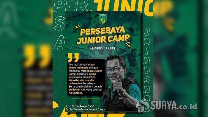 Asah Potensi Bakat Muda, Persebaya Surabaya Gelar Persebaya Junior Camp, Ini Tanggalnya
